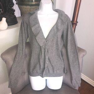 Zara Knit Cardigan Sweater NEW Woman's Medium